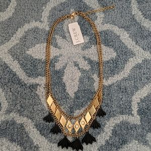 J.Crew gold toned necklace